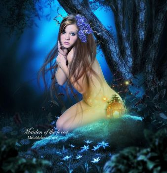 Maiden of the forest by MelieMelusine
