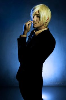 So Dapper! ~Sanji Cosplay New World by liui-aquino
