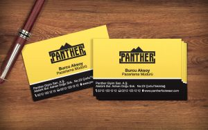Panther Footwear Business Card by uberdream