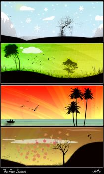 The four seasons by JJGP