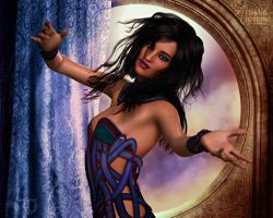 A Dancer of the Exotic by RavenMoonDesigns