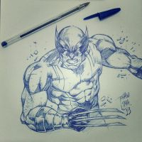 Wolverine by Thinho88
