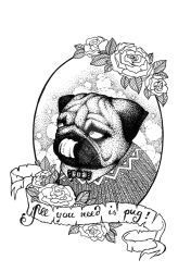 all you need is pug by blaublimm