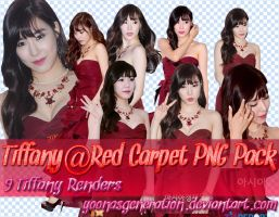 Tiffany Red Carpet PNG PACK by YoonAsGeneration