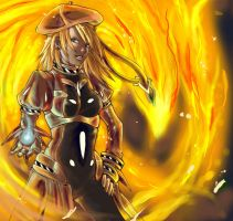 Arcane Summoner Fire by white-angel-ariah