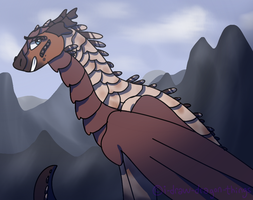 Mountain Beauty by i-draw-dragon-things