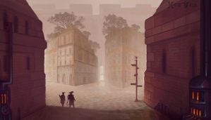 Mysterious Town of Coda by Banzz