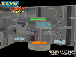 Digimon Rumble Arena: Mecha Factory by Gale-Kun