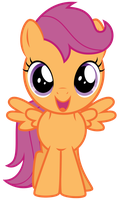 Excited Scootaloo by thatguy1945