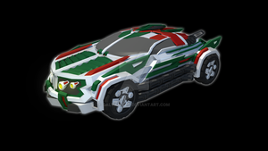 Vanguard Wheeljack (2015) - Vehicle Mode by Galvanitro