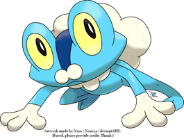 Froakie by Xous54