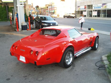 Big Red Corvette III by Neville6000