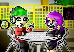 Relaxing (splatoon 2) by TheRealNeolize
