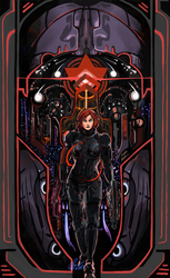Mass Effect N7 Day - The Fireworks of Renegade by Splikitt