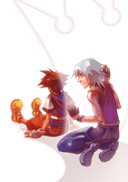 KH: I can't help you... by Anyarr