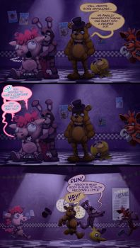 Five Nights with Pinkie 3rd Night by foolyguy