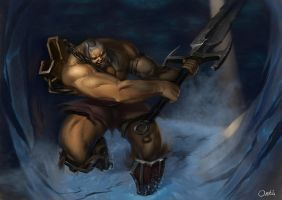 Barbarian by Ork-artist