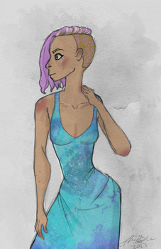 Space dress by Torsle