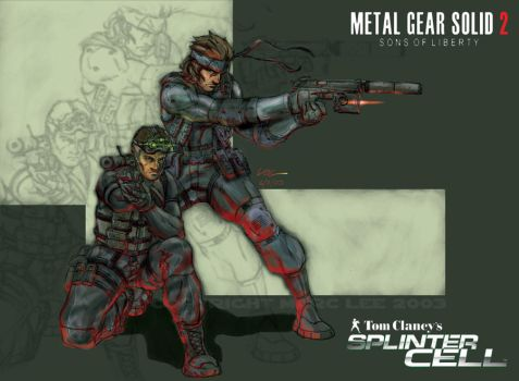 MGS meets Splinter Cell by MarcWasHere
