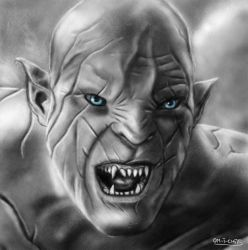 Azog the Defiler by Mitheriel
