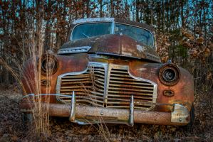 The Chevy in the Woods by FabulaPhoto