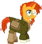 Sunburst as Milo Thatch by CloudyGlow