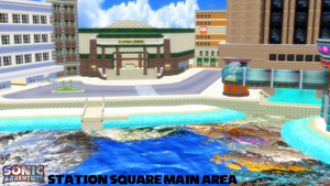 (MMD Stage) Station Square Main Area Download by SAB64