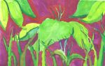Jungle Leaves by Daryl-the-cartoonist