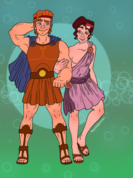 Herc and Meg by PonceIndustries