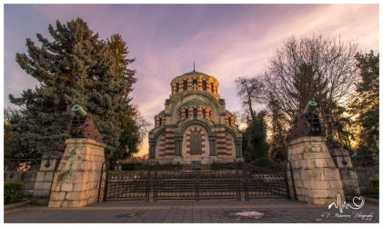 St George the Conqueror Chapel Mausoleum by InDeathsEmbrace