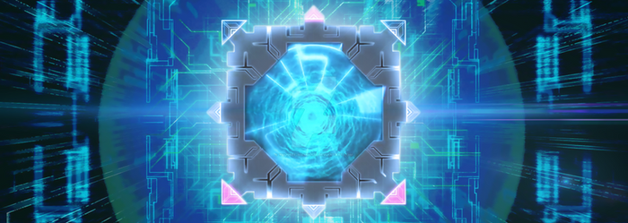 LINK VRAINS PACK Banner Background by Youssef-Mamdouh