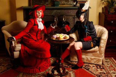 Champagne and Cupcakes by BettyValentine