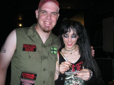 Me with Kimberly Freeman by STRONG-COAT-OF-BLACK