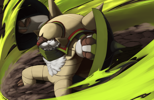 Chesnaught print by ClockworkShrew
