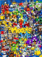 Mixels Series 1-9 Poster by DreamMoonMaker