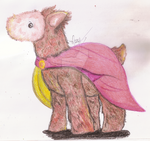 .: Spartan Llama Plushie on Crayons :. by Camaro--Princess