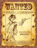 Wanted Poster by Inkmonkey-Woodis