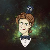 I wear a Tardis now! by nokeek