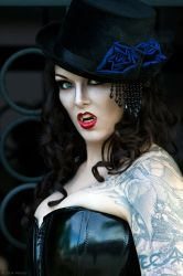 Steam Punk Vampiress I by ShadowDreamers