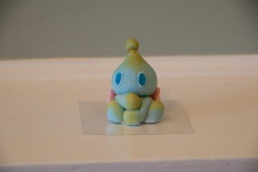 Neutral Chao icing Figure 1 by akion-totocha