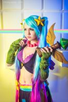LEAGUE OF LEGENDS [Arcade Sona] 5 by Akaomy