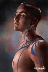 Body Paint-study by MelissaFindley
