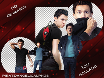 Pack PNG 002 - Tom Holland by pirate-angelicalpngs