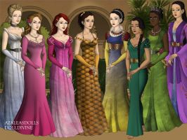 Disney Princesses by kylienh