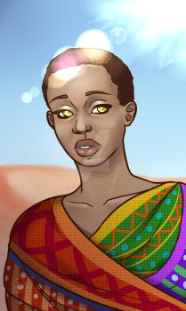 Sexually Ambiguous Mixed Person by Adonis-Batheus