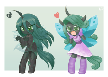 Chrysalis by HowXu