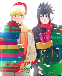 Naruto.Sasuke-Under The Snow by Cassy-F-E