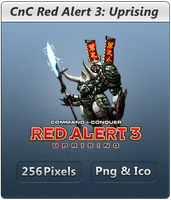 Red Alert 3 Uprising - Icon by Crussong