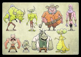 Characters Part2 by Noumier