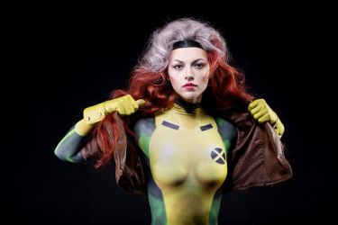 X-men Rogue from animated series 90 by ormeli